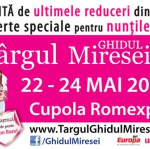 MONEY BACK in premiera nationala la Targul de Nunti Ghidul Miresei 22-24 Mai 2015