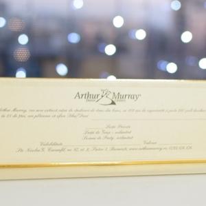 De sarbatori, alege un cadou inedit: gift card-urile cu lectii de dans la Arthur Murray