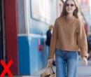 Combinaţia de blugi cu pulover nu mai este la modă! Cu ce să o înlocuieşti!