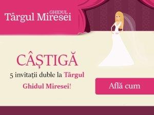 Participa la concursul Karena si castiga 5 invitatii duble la Targul Ghidul Miresei din luna octombrie