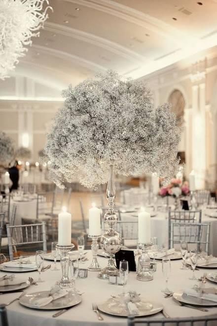 8 aranjamente pentru nunti la moda in 2018