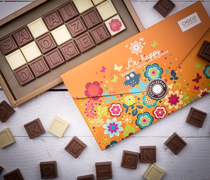 Chocotelegramele,  vedete in noua colectie de ciocolata de Craciun de la Ciocolissimo