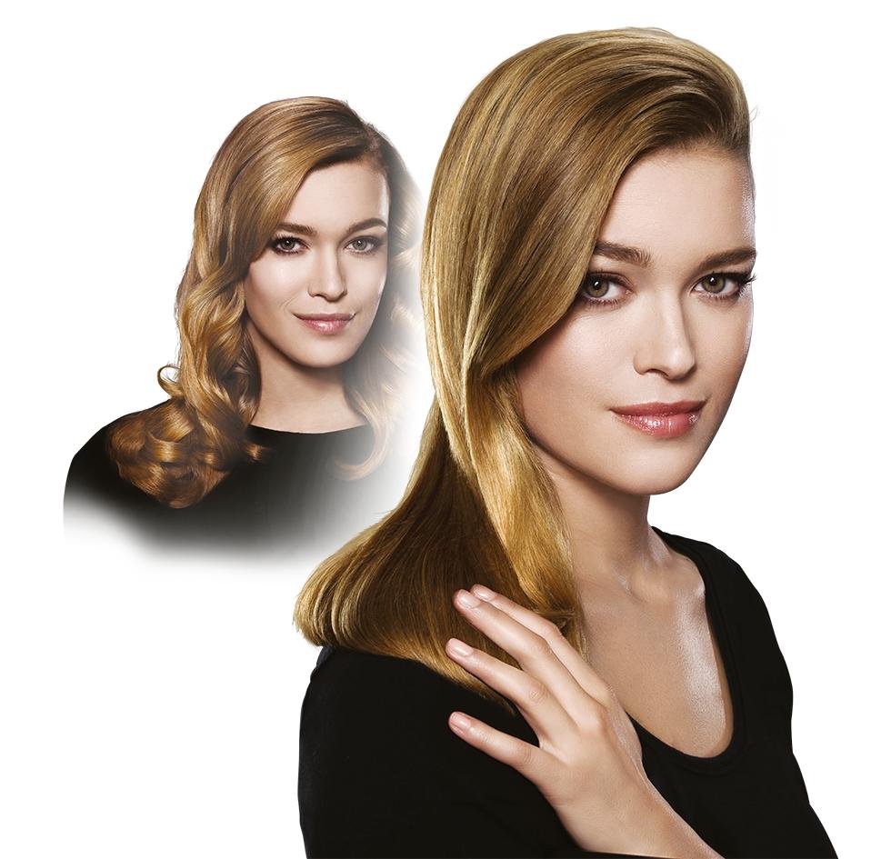 Chic diva cu Rowenta Premium Care Liss&Curl. Par drept sau beach waves?