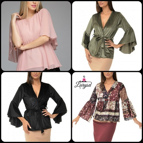 Larysa.ro - Bluze dama potrivite pentru tinute casual si elegante