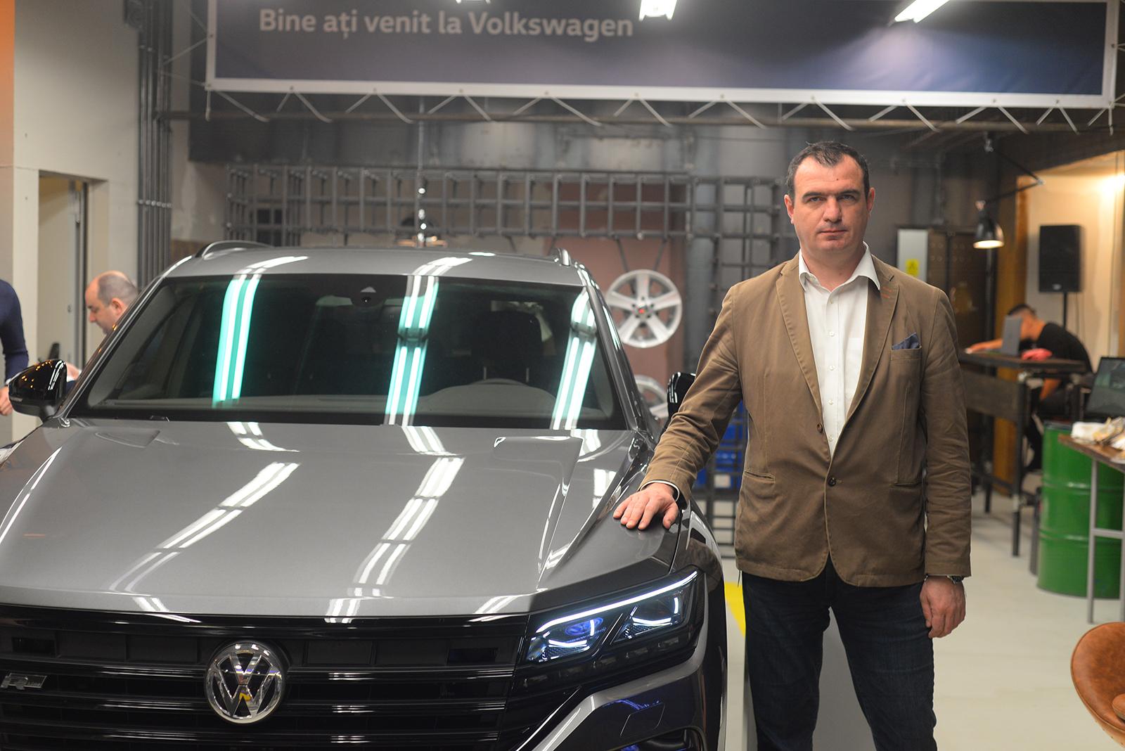 Volkswagen lanseaza un magazin propriu intr-un mall, o premiera pentru piata auto din Romania