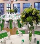 Verde: Idei de decoratiuni pentru nunta