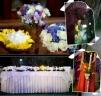 Aranjamente florale la o nunta originala - tendinte, preturi, personalizari