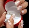Tendinte 2012: 8 modele de unghii incantatoare pentru mirese