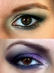 Trucuri, produse si exemple de machiaj in functie de culoarea ochilor