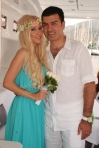 Anca Neacsu (ex ASIA) s-a maritat in rochie marca Wonder Lolita