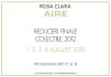 REDUCERI masive la Rosa Clara si AIRE Barcelona