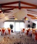 Aranjamente cu baloane pentru nunta: idei si modele