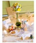Cele mai interesante decoratiuni pentru mesele de nunta