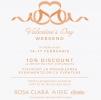 Valentine s Day Weekend: reduceri la rochiile de mireasa Rosa Clara si Aire Barcelona