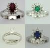 Bijuterii cu smarald, rubin, safir, diamant la preturi mai mici decat crezi!