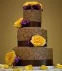 Tort de ciocolata: 30 de poze dintre care sa iti alegi tortul de nunta