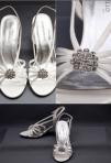 Sandale de mireasa: modele in functie de stil si inaltime