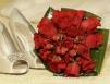 Buchet de mireasa rosu: modele si preturi