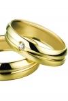 Verighete clasice: modele de aur galben, aur alb, aur roz si argint