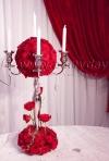 Aranjamente florale: 30 de idei cu flori rosii