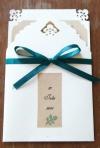 Invitatii de nunta handmade: cele mai frumoase modele