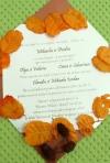 Invitatii ideale pentru o nunta de toamna