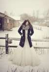 Nunta de iarna: rochii de mireasa, decoratiuni, trucuri si idei
