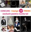 CONCURS -Castiga 10+ premii EXCLUSIV pentru NUNTA TA!