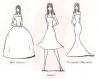 Schema perfecta ce te invata cum sa-ti alegi rochia pentru silueta ta