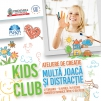 Kids Club dezvolta abilitatile creative ale  copiilor, la Plaza Romania