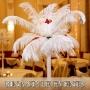 Aranjamentele din pene: noua tendinta in decoratiuni pentru nunta in 2010