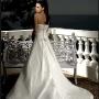 Rochia de mireasa cu trena mult visata de la Perfect Bride