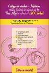 Castiga un voucher-martisor pentru bijuterii de mireasa de la Tria Alfa in valoare de 200 de lei