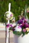 Lumanarile de nunta in 2012: tendinte, culori, forme, preturi
