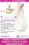 Castiga o rochie de mireasa Marithe sau unul dintre cele doua coliere placate cu aur