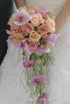 Buchete de mireasa cu trandafiri si orhidee