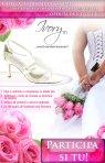 Castiga o pereche de sandale de mireasa, in valoare de 450 de lei, oferita de e-Ivory.ro