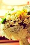 Buchete de mireasa cu flori de camp - cele mai frumoase exemple