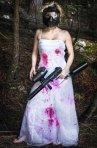 Trash the dress: idei pentru o sedinta foto deosebita