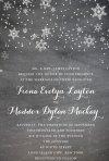 Invitatii pentru nunta de iarna