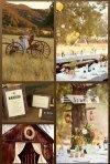 Nunta rustica: invitatii, accesorii, decoratiuni si buchete