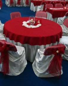 Decoratiuni simple pentru mesele de nunta