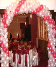 Aranjamente baloane nunta arcade 2
