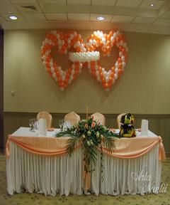 Aranjamente baloane nunta 2