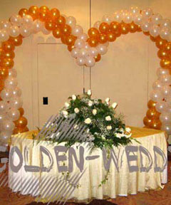 Aranjamente baloane nunta 1
