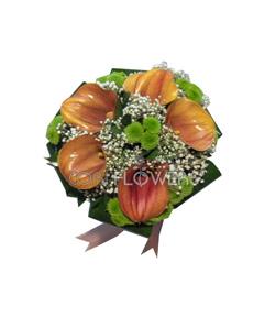 Buchet cale cori flowers