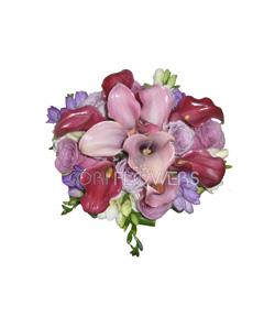 Buchet cale 2 cori flowers