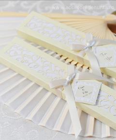 Marturii evantai accesorii de nunta