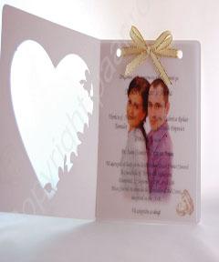 Invitatii de nunta personalizate poza mirilor