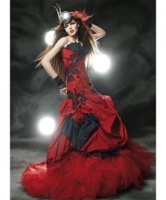 Rochie colorata Ayana Bride 4